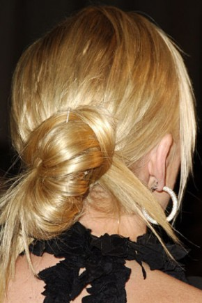 Sharon Stone celebrity updo hairstyles 2015