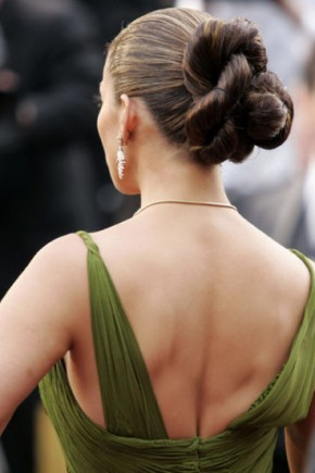 Jennifer Lopez celebrity updo hairstyles 2015