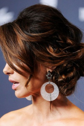 Kate Beckinsale celebrity updo hairstyles 2015