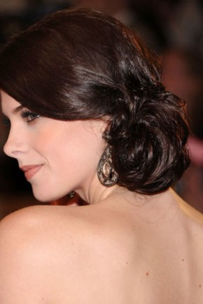 Ashley Greene celebrity updo hairstyles 2015