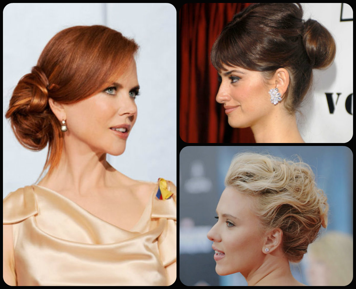 celebrity updo hairstyles 2015