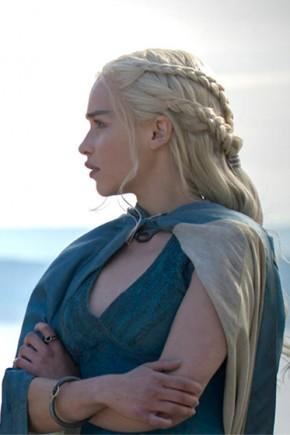 Daenerys Targaryen braids hairstyles 2015