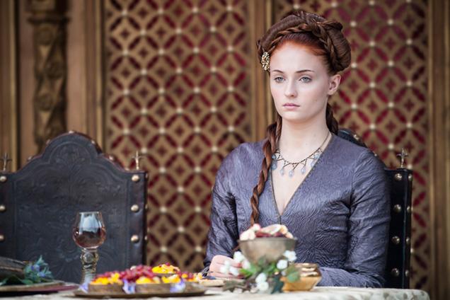 Sansa Stark braids hairstyles 2015