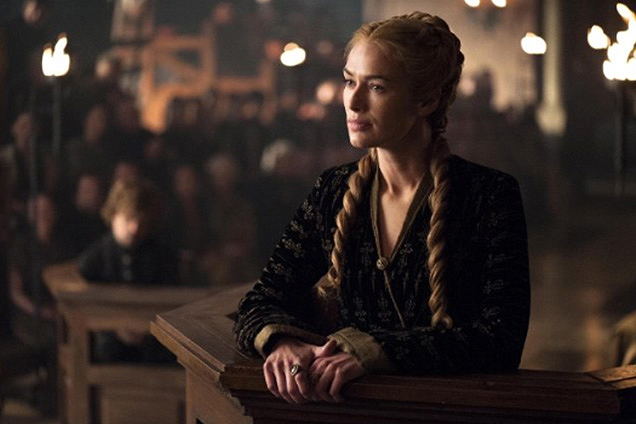 Cersei braids hairstyles 2015