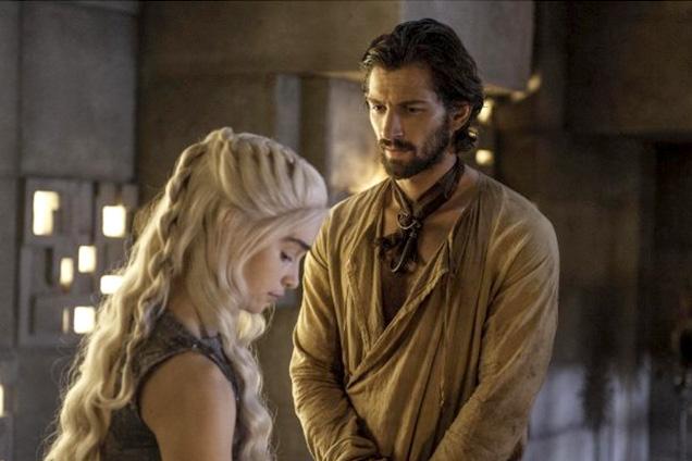Daenerys Targaryen loose braids hairstyles 2015