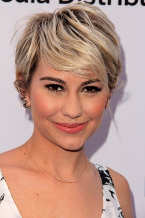 Chelsea Kane short hairstyles with bangs 2015