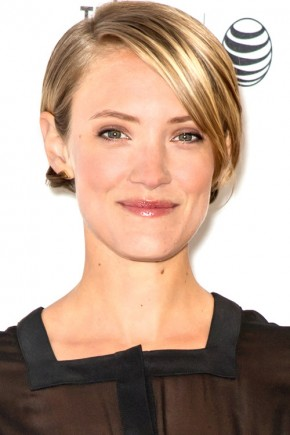 Alexia Rasmussen short hairstyles with bangs 2015