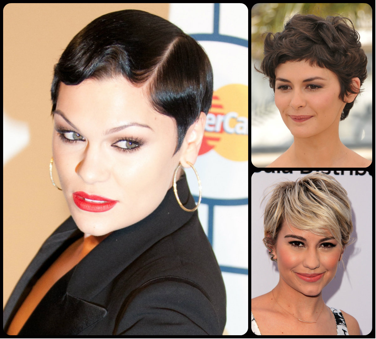 short hairstyles with bangs 2015