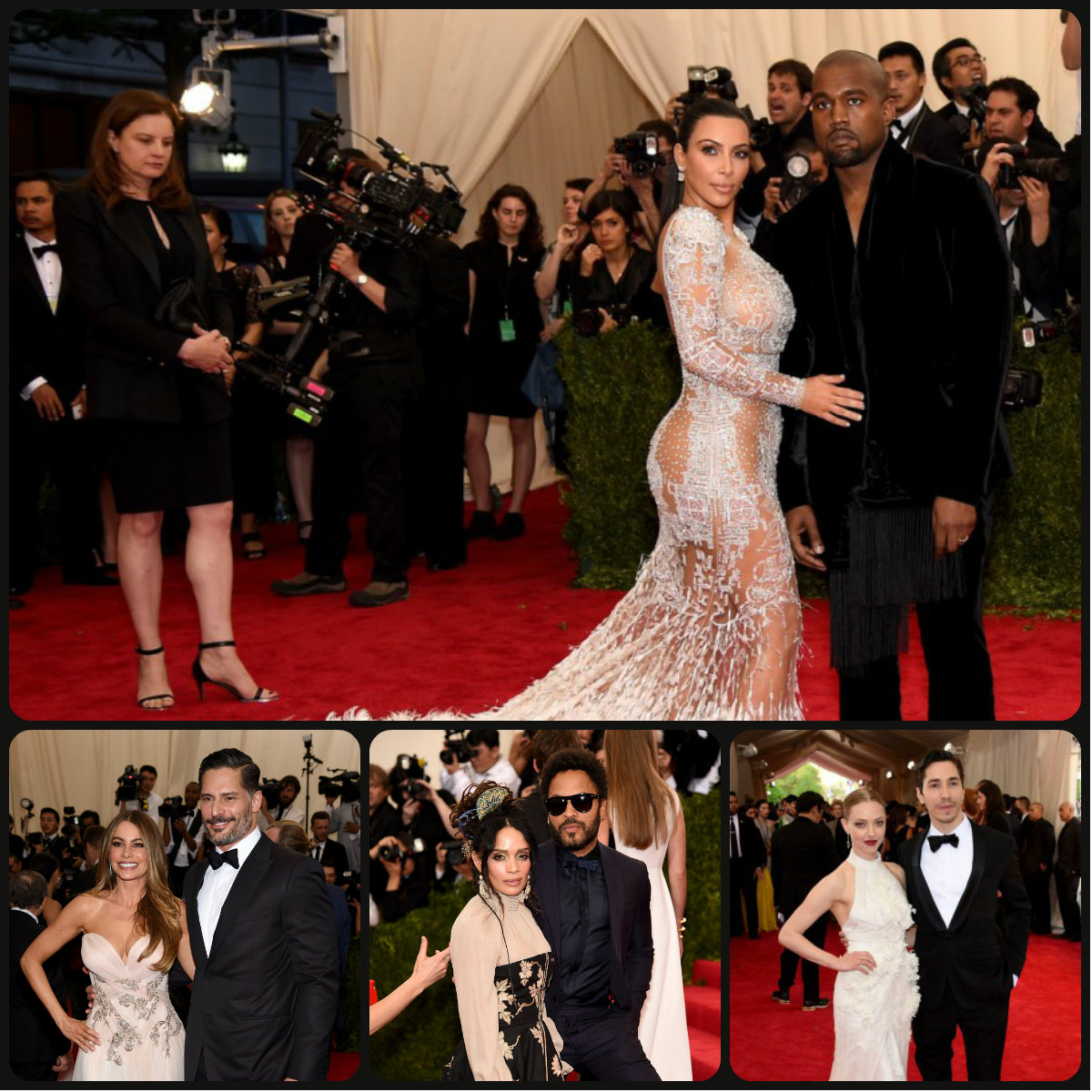 Best Couples and Celebrity Hairstyles 2015