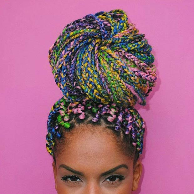 Watch Box Braids Hairstyles For 2019 video