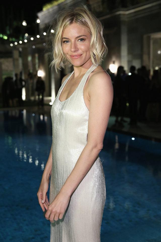 Cannes 2015 Hairstyles - Sienna Miller