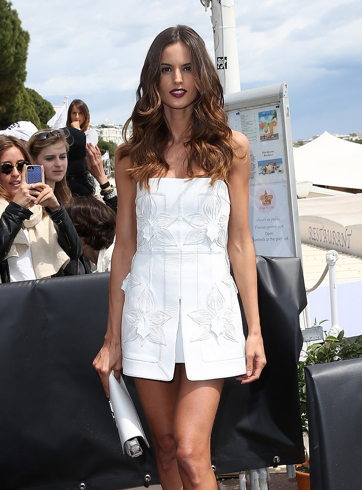 Cannes 2015 Hairstyles - Izabel Goulart