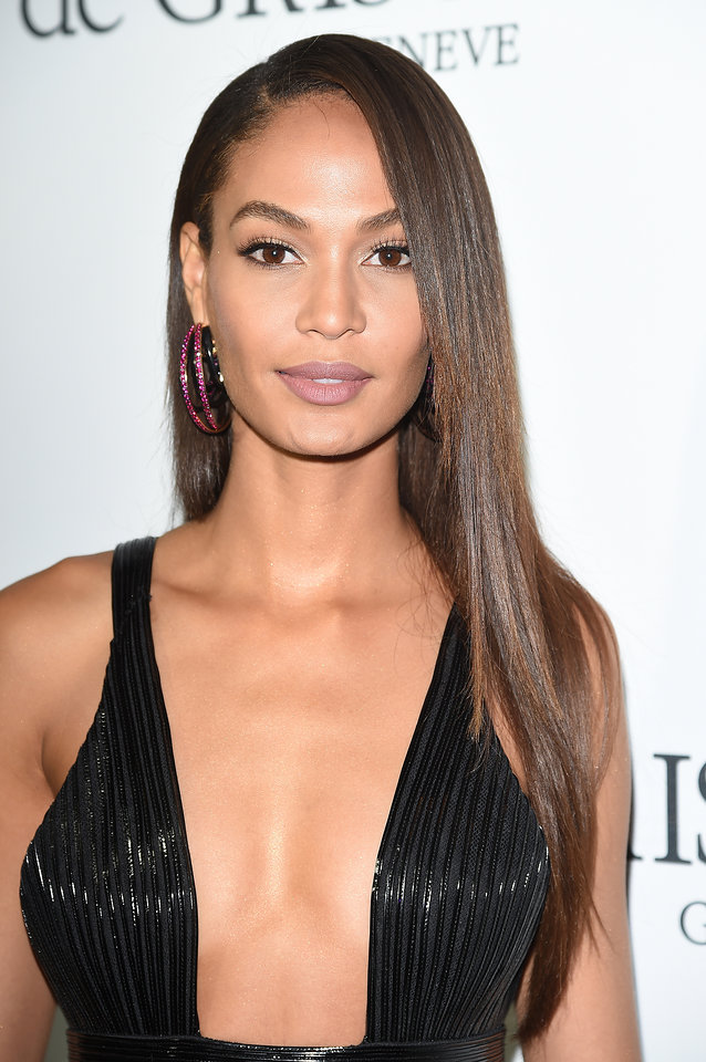 Cannes 2015 Hairstyles - Joan Smalls