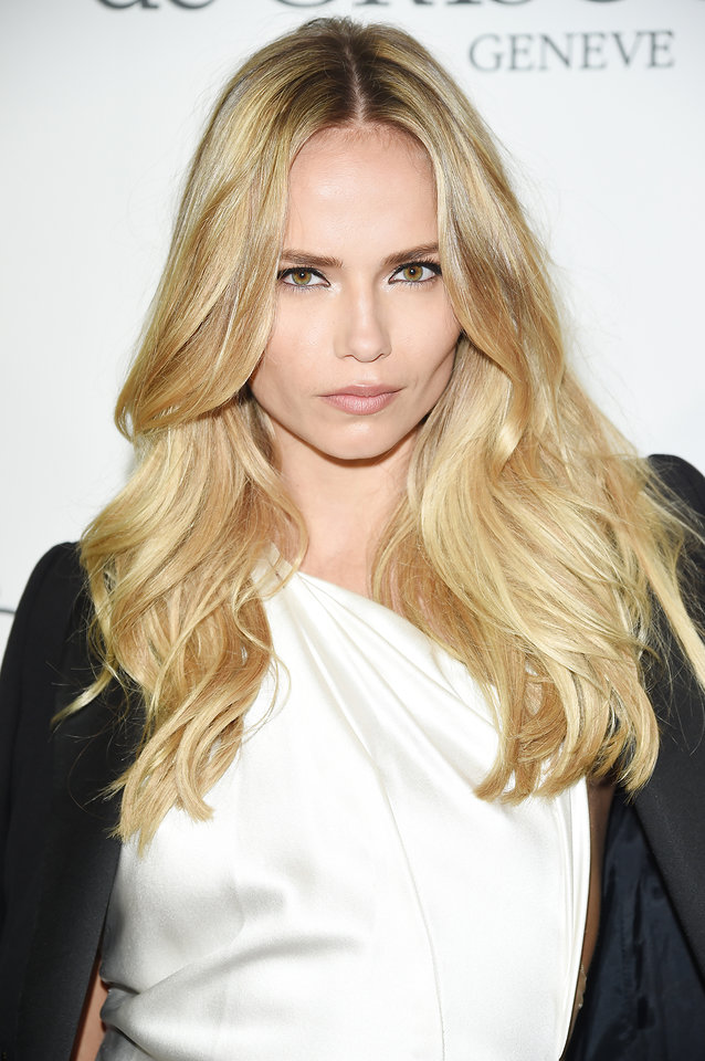 Cannes 2015 Hairstyles - Natasha Poly