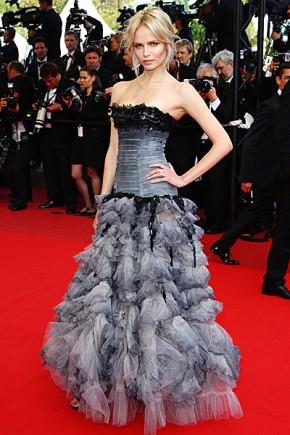Natasha Poli Hairstyles Cannes Film Festival