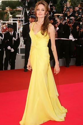 Cannes - 'Ocean's Thirteen' - Angelina Jolie hairstyles