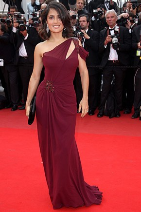 Salma Hayek Celebrity Hairstyles 63rd Cannes Film Festival