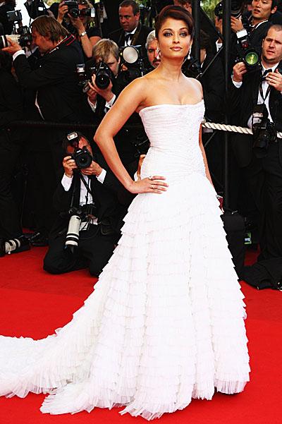 Aishwarya Rai Celebrity hairstyles Cannes
