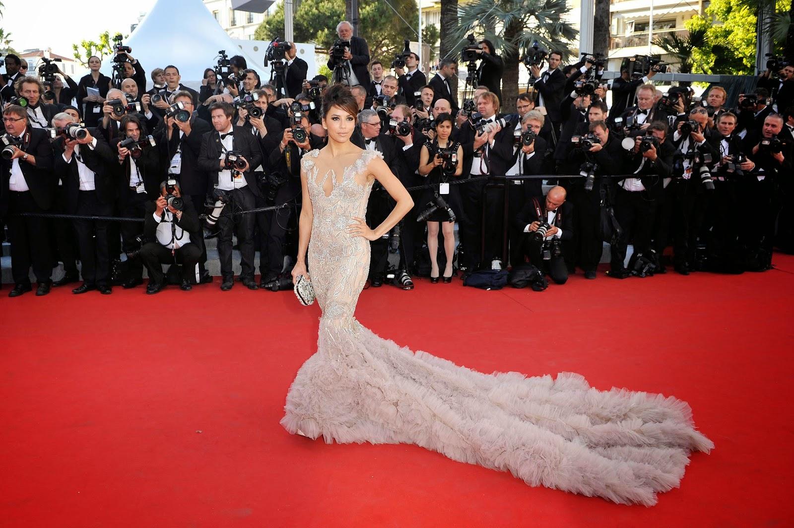Cannes Festival 2012 Eva Longoria Celebrity Hairstyles