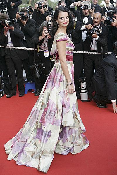 Penelope Cruz Cannes Hairstyles