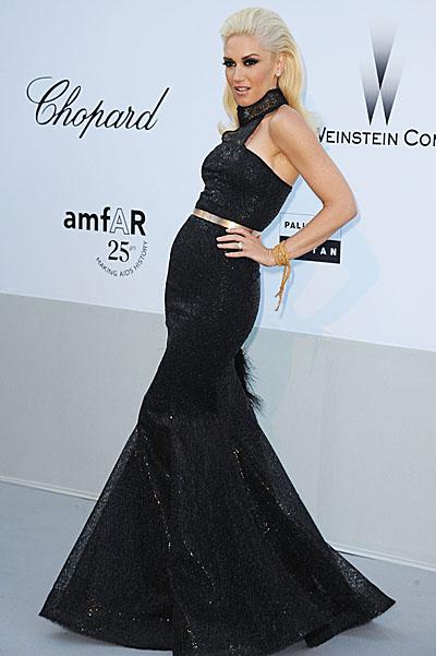 Gwen Stefani Cannes Celebrity Hairstyles