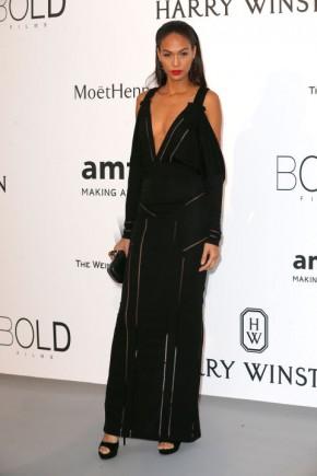 Joan Smalls Cannes amfAR Gala 2015 Celebrity Hairstyles