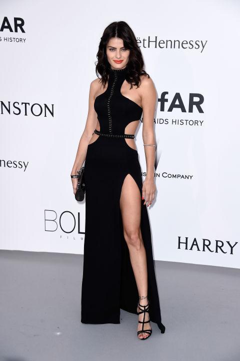 Isabeli Fontana Cannes amfAR Gala 2015 Celebrity Hairstyles