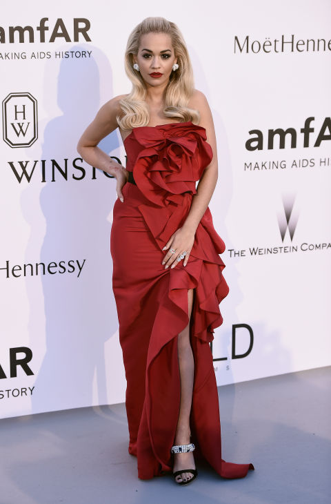 Rita Ora Cannes amfAR Gala 2015 Celebrity Hairstyles