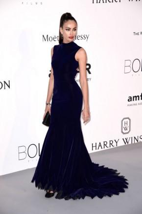 Madalina Ghenea Cannes amfAR Gala 2015 Celebrity Hairstyles