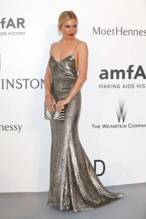 Sianna Miller Cannes amfAR Gala 2015 Celebrity Hairstyles