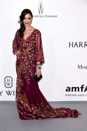 Georgina Chapman Cannes amfAR Gala 2015 Celebrity Hairstyles