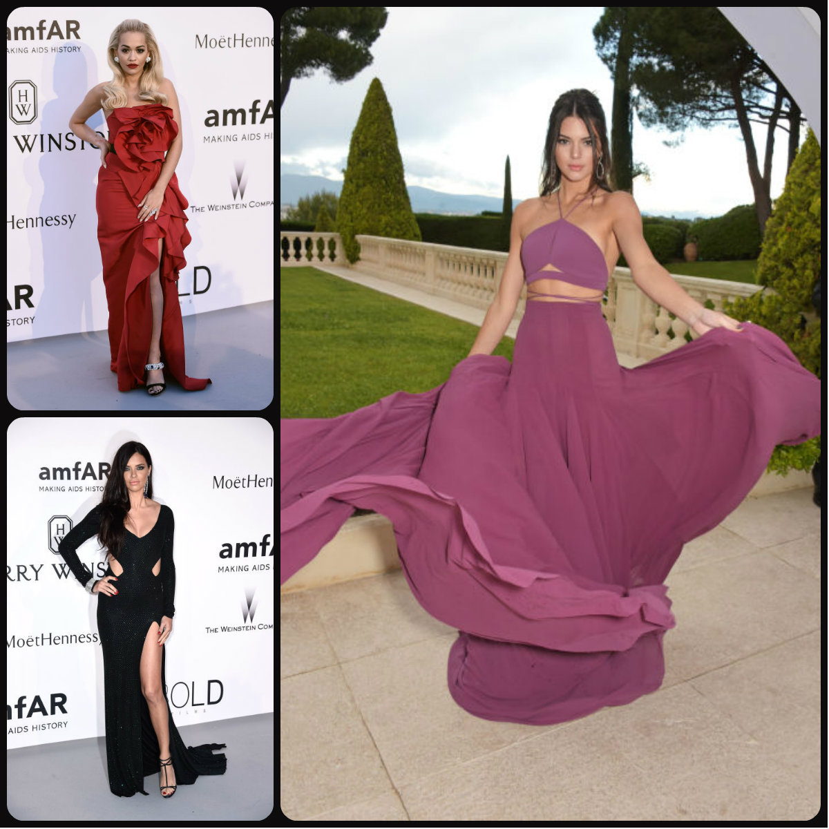 Cannes amfAR Gala 2015 Celebrity Hairstyles