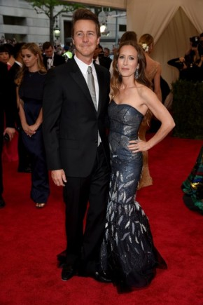 Edward Norton and Shauna Robertson Met Gala 2015 Mens Hairstyles