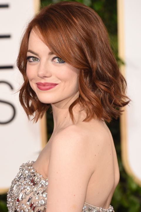 Emma Stone Hair Colors 2015 Summer