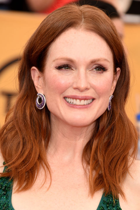 Julianne Moore Hair Colors 2015 Summer