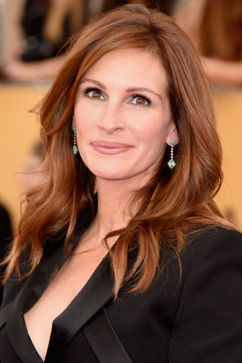Julia Roberts Hair Colors 2015 Summer