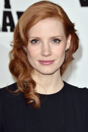 Jessica Chastain Hair Colors 2015 Summer