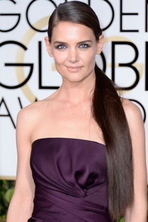 Katie Holmes Hair Colors 2015 Summer