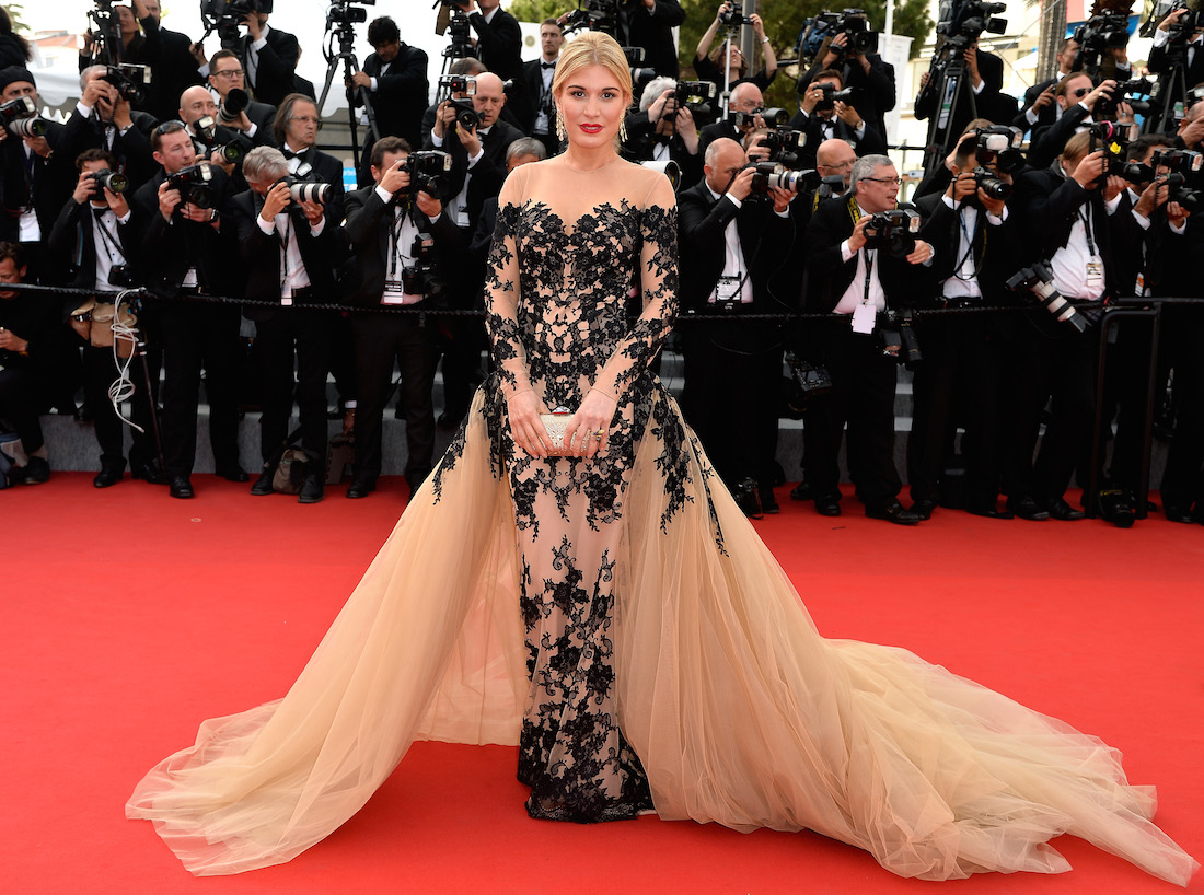 Hofit Golan Celebrity Hairstyles 2015 Cannes