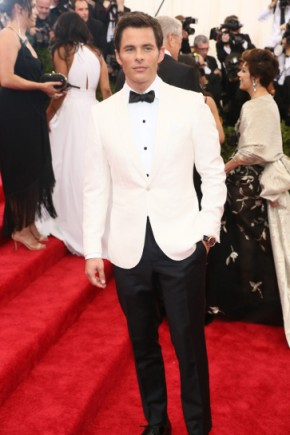 James Marsden Mens Hairstyles from Met Gala 2015