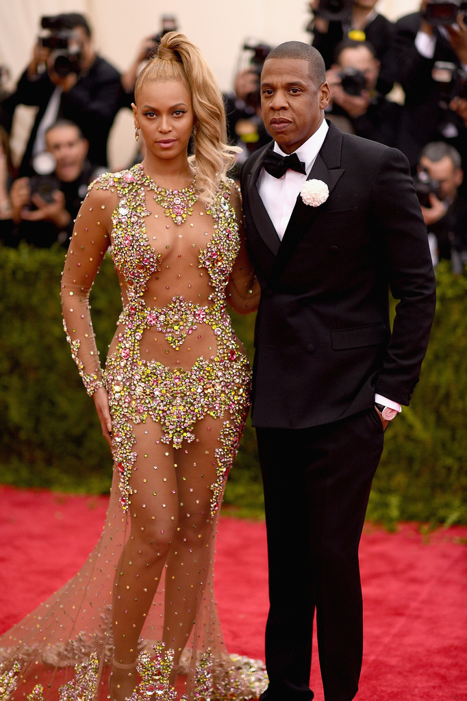 Jay Z and Beyonce Met Gala 2015 Hairstyles