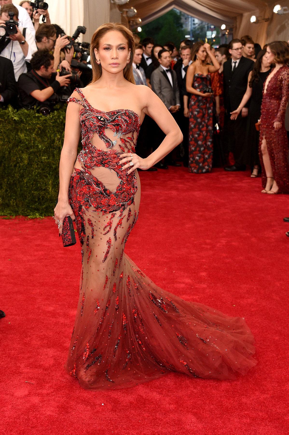Jennifer Lopez Met Gala 2015 hairstyles