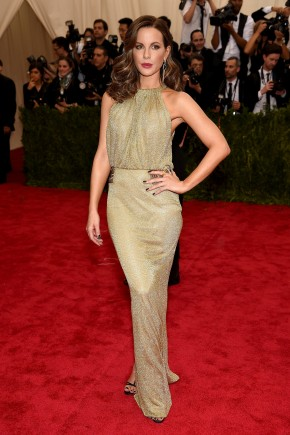 Kate Beckinsale Met Gala 2015 hairstyles