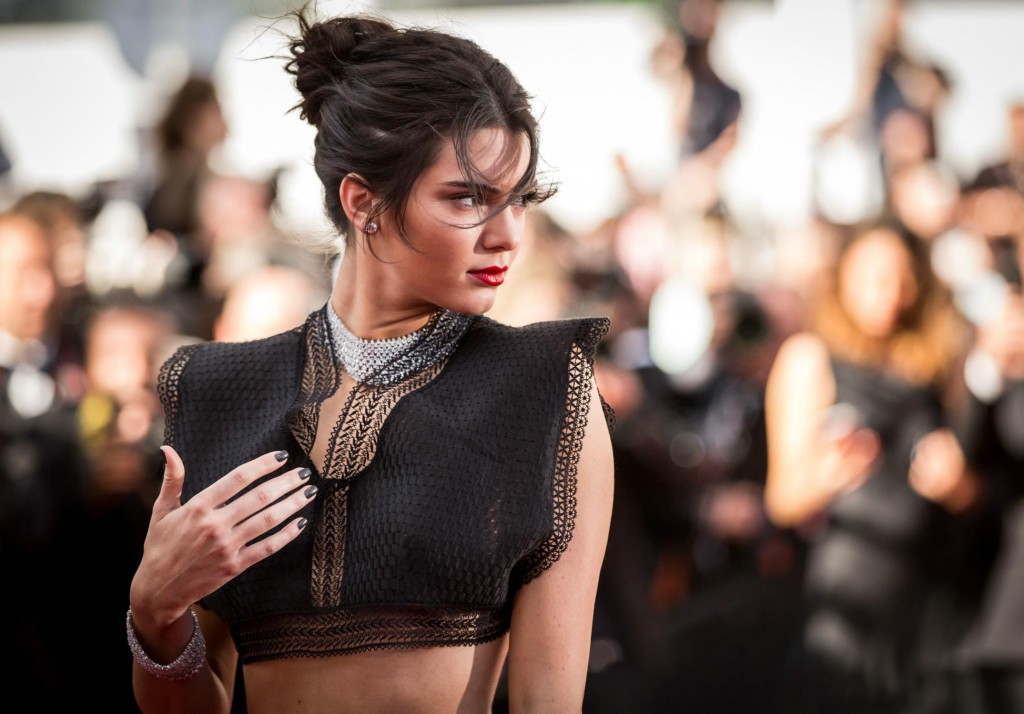 Kendall Jenner hairstyles 2015 Cannes
