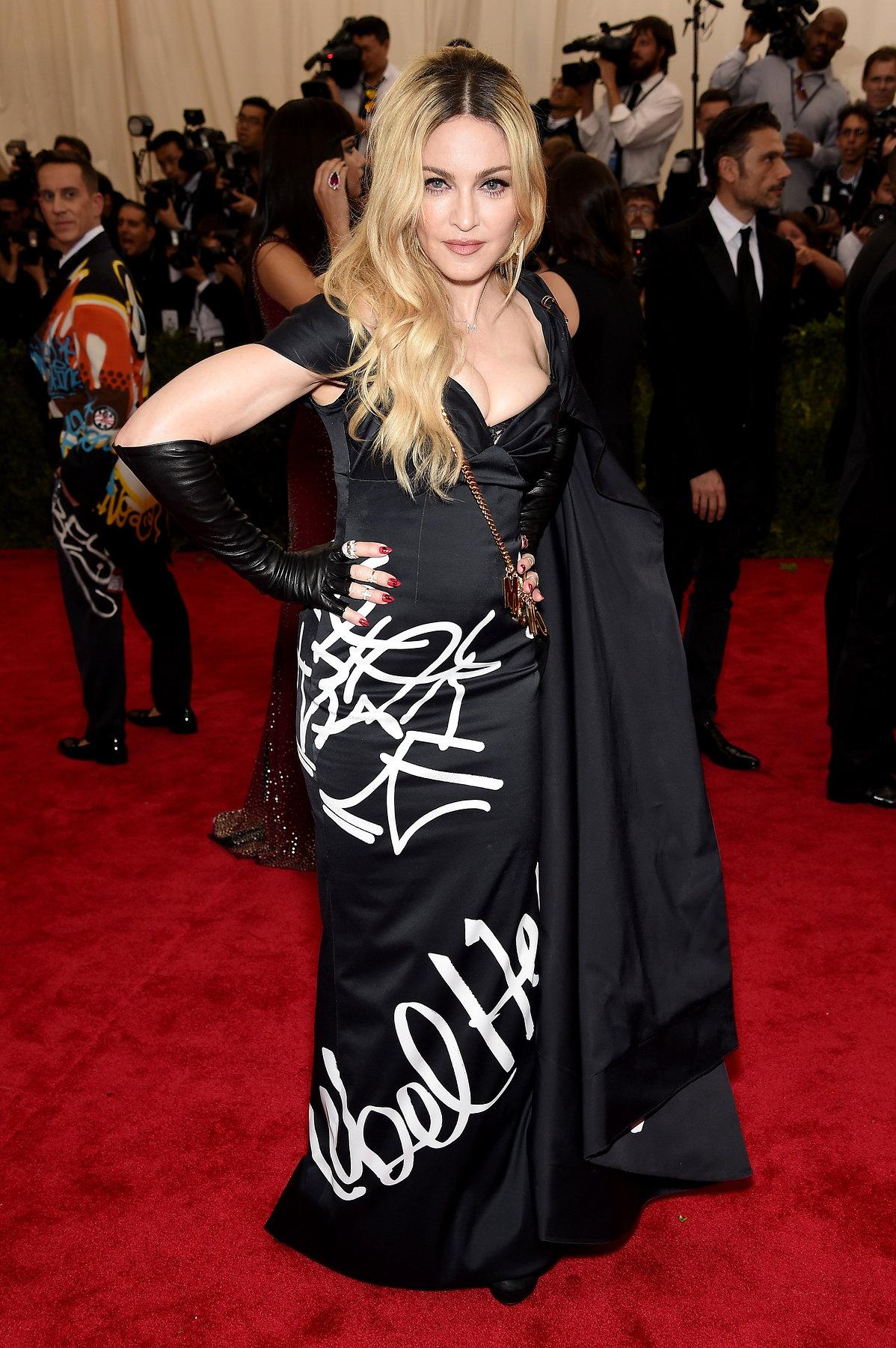 Madonna Met Gala 2015 hairstyles