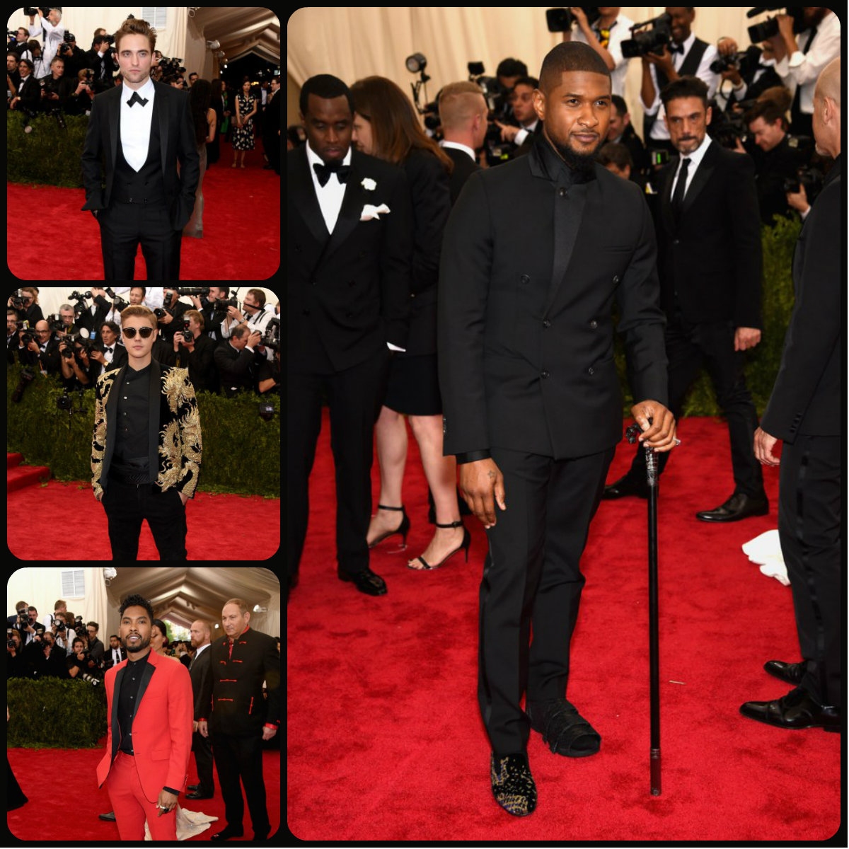 Met Gala 2015 Mens Hairstyles