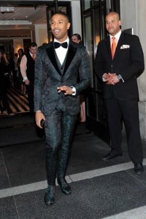 Michael B Jordan Met Gala 2015 Mens Hairstyles