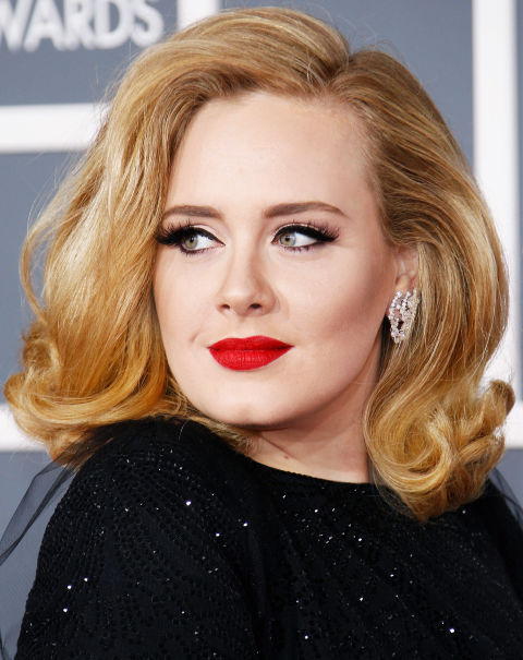 Adele Retro Hairstyles 2015