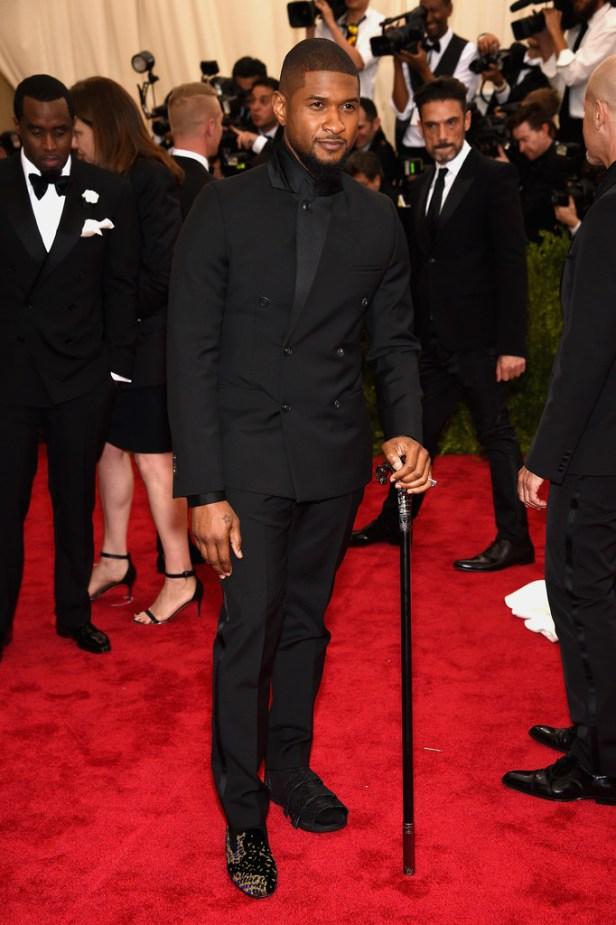 Usher Met Gala 2015 Mens Hairstyles