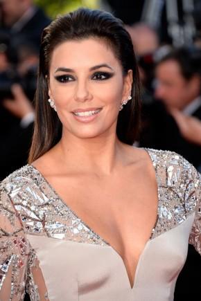 Eva Longoria hairstyles 2015 Cannes